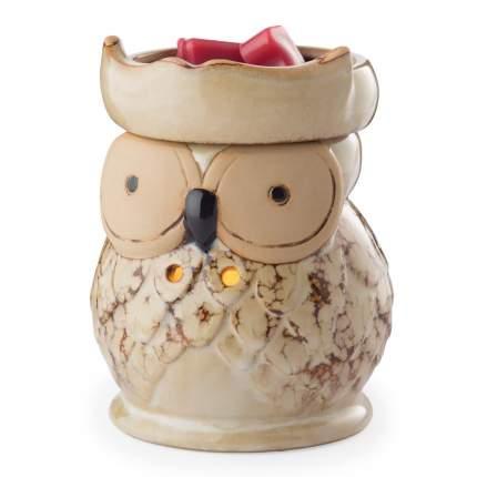 Аромасветильник настольный Candle Warmers Сова  керамика Round Illumination - Owl