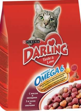 Сухой корм для кошек Darling, с мясом и овощами, 2кг