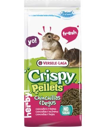 Корм для шиншилл и дегу Versele-Laga Crispy Pellets Chinchillas&Degus, в гранулах, 1 кг