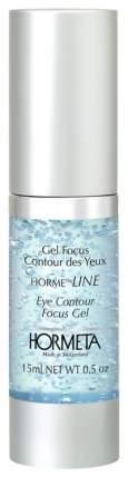 Гель-фокус для кожи контура глаз флакон-помпа Hormeta Gel Focus Contour des Yeux, 15 мл