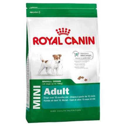 Сухой корм для собак ROYAL CANIN Adult Mini, рис, птица, 8кг