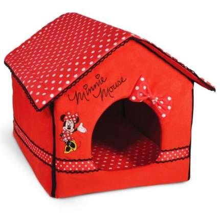 Домик для кошек и собак Triol Disney Minnie, красный, 50x40x40см