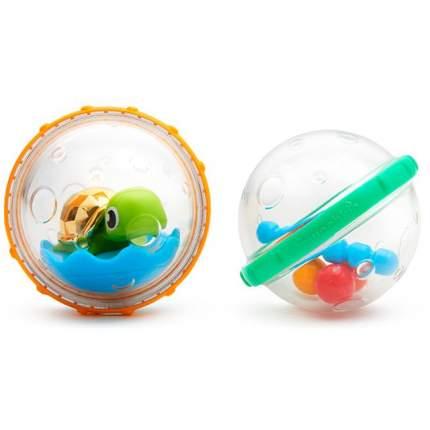 Игрушка для ванны Munchkin пузыри-поплавки черепашка, 2 шт., 3м+