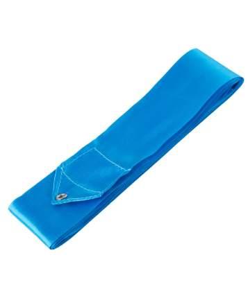 Гимнастическая лента Amely RGR-201 с палочкой 46 см, 4 м, голубая