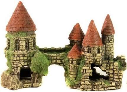 Грот для аквариума Deksi Замок № 101, пластик, 19х9х13 см