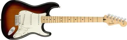 Электрогитара Fender Player Stratocaster Pau Ferro 3-Color Sunburst