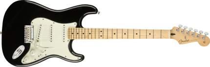 Электрогитара Fender Player Stratocaster  Maple Black