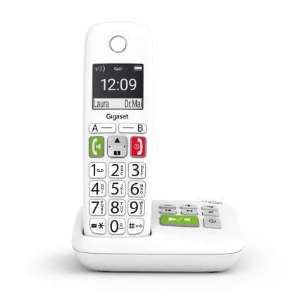 Радиотелефон Gigaset E290 SYS RUS White