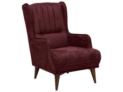 Кресло Болеро Красный, иск. замша