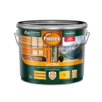 Защитная лазурь Pinotex Ultra влагостойкая для древесины сосна 9 л