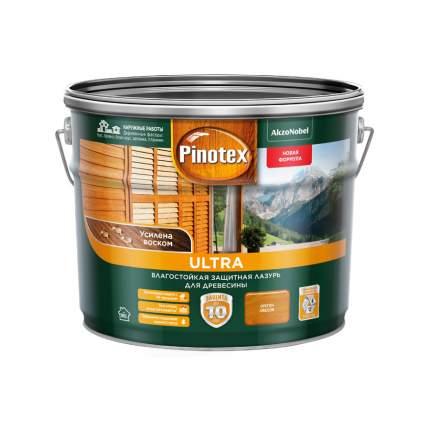 Защитная лазурь Pinotex Ultra влагостойкая для древесины орегон 9 л