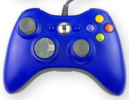 Геймпад Controller для Xbox 360 Blue