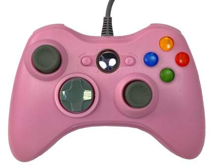 Геймпад Controller для Xbox 360 Pink
