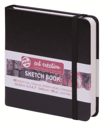 Скетчбук для зарисовок Talens Art Creation 80г/квм 12*12см 80 л слон кость точка черная