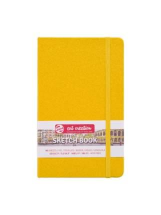 Скетчбук для зарисовок Talens Art Creation 140г/кв.м 13*21см 80 л слон кость тв желт облож