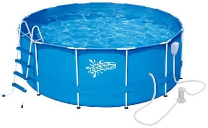 Каркасный бассейн Polygroup Summer Escapes P20-1352-B 396x396x132 см