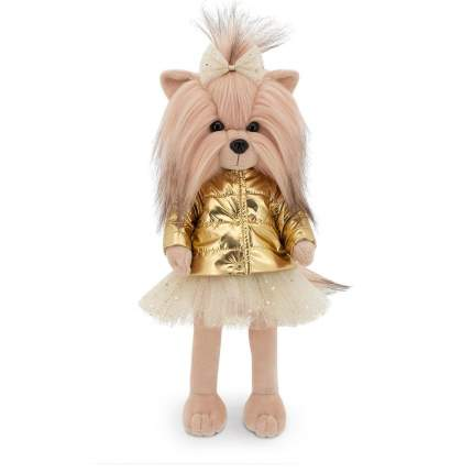 Игрушка Orange Toys мягкая Собачка Lucky Yoyo: Золотой пуховик на каркасе LD3/067