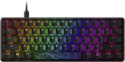 Игровая клавиатура HyperX Alloy Origins 60 Red switches USB RGB (HKBO1S-RB-RU/G)