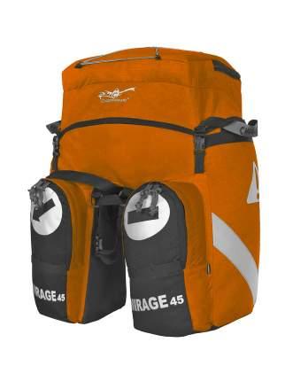 Велорюкзак Снаряжение МИРАЖ 45 оранжевый