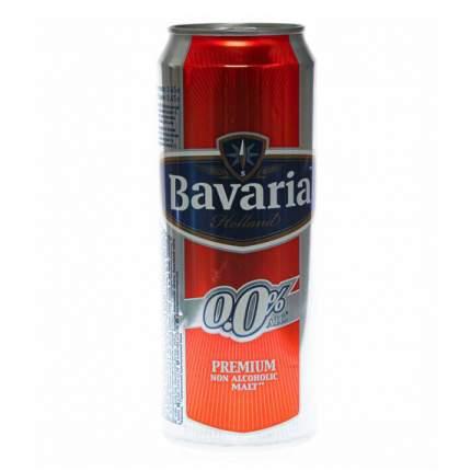 Безалкогольное пиво Bavaria Малт светлое пастеризованное 450 мл