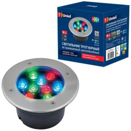 Ландшафтный светильник Uniel ULU-B12A-9W/RGB IP67 Grey ULU-B