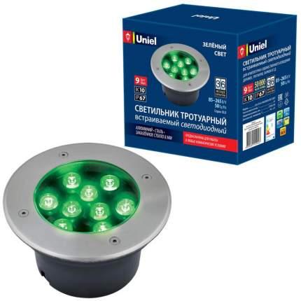 Ландшафтный светильник Uniel ULU-B12A-9W/Green IP67 Grey ULU-B