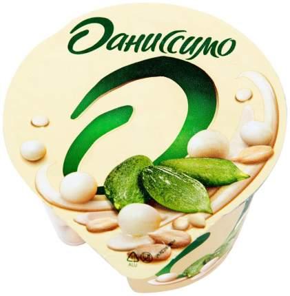 Йогурт Даниссимо Deluxe с семечками и рисовыми шариками в белой глазури 2,9% БЗМЖ 135 г