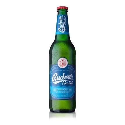 Безалкогольное пиво Budweiser Budvar Nealco ячменное светлое 0,5 л