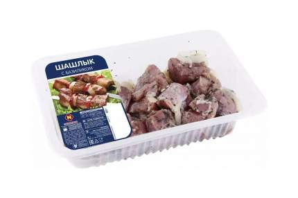 Шашлык свиной в маринаде Останкино с базиликом охлажденный +-800 г