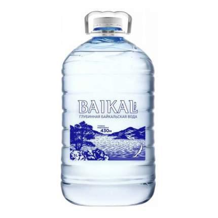 Вода природная питьевая Baikal430 негазированная 5 л