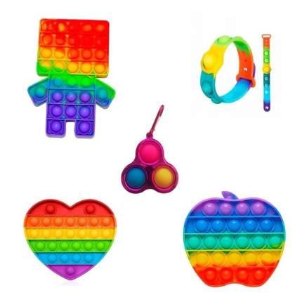 Игрушка-антистресс Pop It набор , 4 предмета