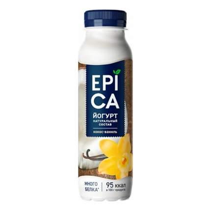 Питьевой йогурт Epica кокос-ваниль 3,6% БЗМЖ 260 г