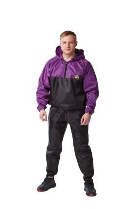 Костюм-сауна SPR Premium (Черный-Фиолетовый) (L)