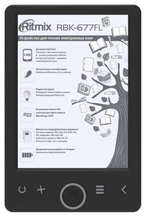 Электронная книга Ritmix RBK-677FL Black
