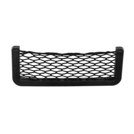 Карман-органайзер с сеткой для автомобиля: для телефона и мелких вещей. 15 x 8 см