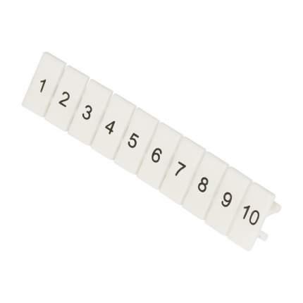 Маркеры для JXB с нумерацией 1-10 (10 шт.) EKF PROxima
