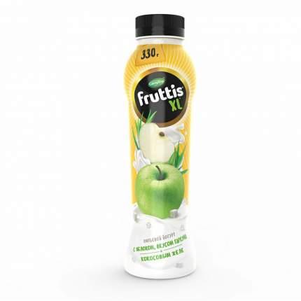 Питьевой йогурт Fruttis XL с яблоком вкусом тархуна и кокосовым желе 2% 330 г