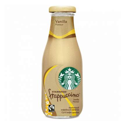 Молочный напиток Starbucks Frappuccino Vanilla Кофейный 250 мл