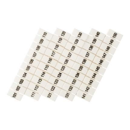 Маркеры для JXB-ST 2,5 с нумерацией 100-150 (10 шт.) EKF PROxima