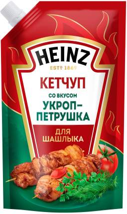 Кетчуп Heinz укроп-петрушка для шашлыка 320 г