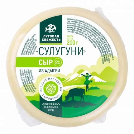 Сыр Луговая свежесть Сулугуни 45% бзмж 200 г