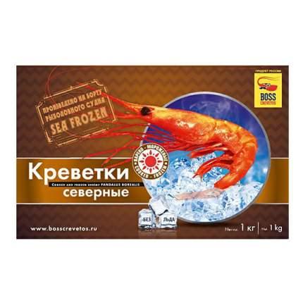 Креветки Boss Crevetos Северные вареные замороженные 1 кг