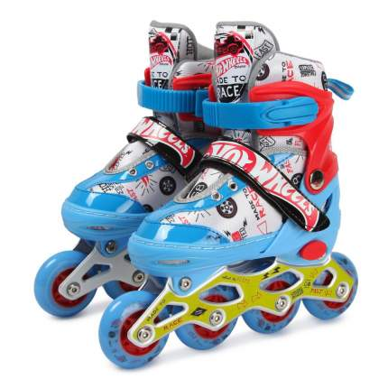 Ролики 1Toy Hot Wheels, PU колеса со светом, размер 30-33