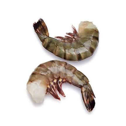 Креветки тигровые 6/8 свежие замороженные 1 кг