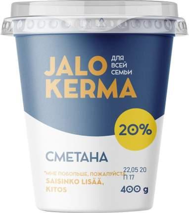 Сметана Jalo Kerma 20% бзмж 400 г