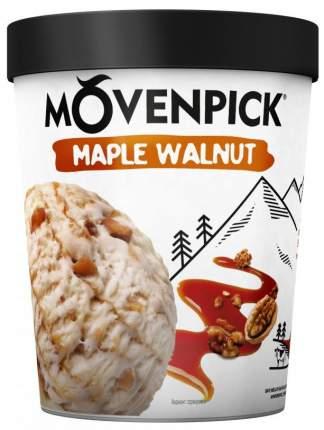 Мороженое пломбир Movenpick с кленовым сиропом и кусочками  грецких орехов 13,6% 298 г