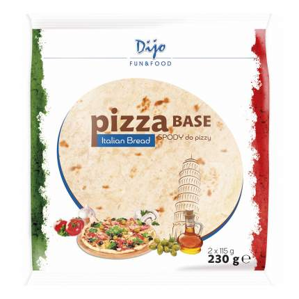Основа для пиццы Dijo бездрожжевая 230 г
