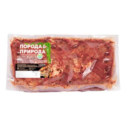 Шашлык свиной в маринаде Порода & Природа Любительский охлажденный +-1 кг