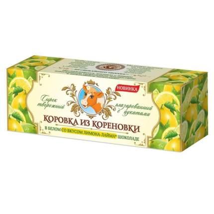 Творожный сырок Коровка из Кореновки Лимон в белом шоколаде 50 г