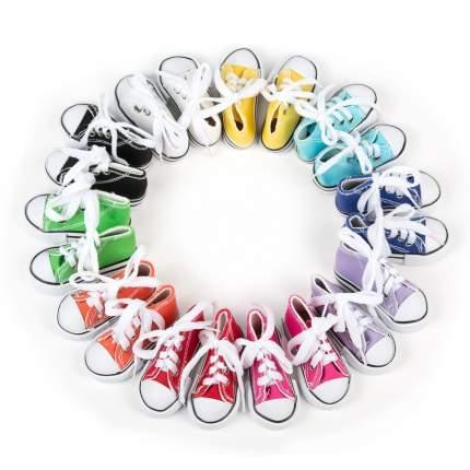 Обувь для кукол Magic 4 Toys Кеды на шнурках, 7,5*4 см, ассорти, 10 пар